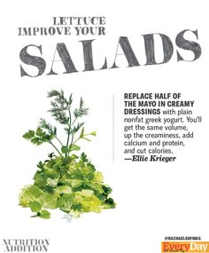 Repin if you want to try this! Get more healthy tips here: http://rachaelraymag.tumblr.com/tagged/nutrition-addition