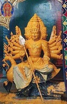 Kartikeya - The god whose shakti the Matrika Kaumari is Lord Murugan Wallpapers, Lord Krishna Wallpapers, Indian Goddess, Durga Goddess, Lord Balaji, Diwali Images, Lord Shiva Painting, Tanjore Painting, Indian Art Paintings
