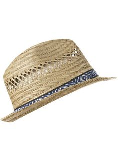 Straw Window Weave Hat