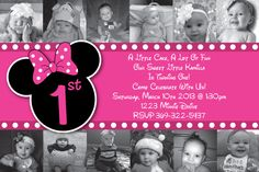 Custom Minnie Mouse Invitations OR Thank You cards by HeathersCreations11  Minnie Mouse Cheetah or Leopard Print Pink or red Custom Birthday Party Invitations by HeathersCreations11, $10.00  Many more to choose from!