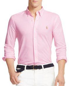 6dc6c4b0b7 POLO RALPH LAUREN Knit Oxford Regular Fit Button Down Shirt.   poloralphlauren  cloth