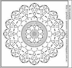 Luty Artes Crochet: Porta copos de Crochê + Gráficos.