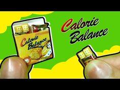 미니어쳐 칼로리바란스 만들기! miniature calorie balance tutorial!! ミニアチュア - YouTube