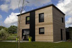 Maison ossature bois Pomelo par Primobois.