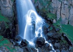 North Clear Creek Falls, San Juan Mountains, Lake City, Colorado, Waterfall