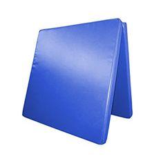 Klappbare Turnmatte - versch. Farben & Größen - Raumgewicht: 22 kg/m³ (200 x 100 x 6 cm, Blau)