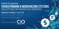 FinTech IT Leadership – Transforming & Modernizing Systems