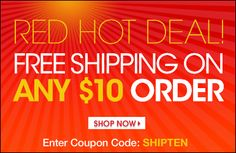 Free Shipping for any $10 order. Code SHIPTEN. Say yes to Avon today! youravon.com/taylorenterprises