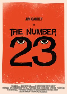 The Number 23 - Movie Poster by Tom Miatke
