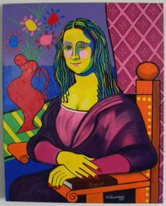 """""""If Picasso Painted the Mona Lisa"""" by Michael Vannozzi"""