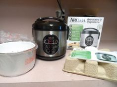 RICE COOK AND FOOD STEAMER. AROMA. NEW IN BOX