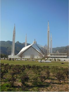 Faisal Mosque, Islamabad, Pakistan    www.liberatingdivineconsciousness.com