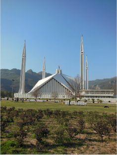 Faisal Mosque, Islamabad, Pakistan    www.liberatingdivineconsciousness.com