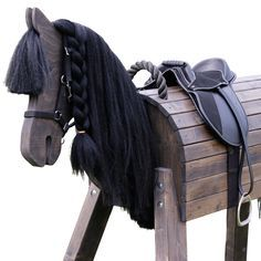 """Ostwind""- Friese ""Ostwind"" Very beautiful giants – the Frisians! Horse Crafts, Wood Crafts, Woodworking Projects Plans, Teds Woodworking, Horse Swing, Latest Tattoos, Wooden Horse, Hobby Horse, Kids Wood"