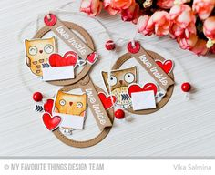 Simple Smiling Cards: Tags to Fall in Love With