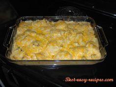 Easy Perogie Casserole Dinner Recipe