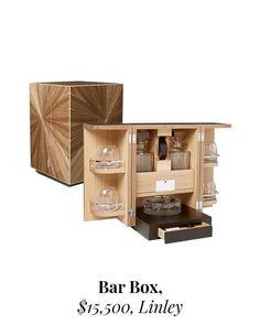 Bar in a Box Billionaire, Liquor Cabinet, Bar, Luxury, Storage, Gifts, Furniture, Home Decor, Purse Storage