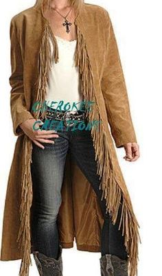 Ladies Handmade Western Suede Leather Fringe Riding Jacket - Love this whole outfit! Cowgirl Outfits, Western Outfits, Western Wear, Cowgirl Fashion, Western Dresses, Cowgirl Chic, Cowgirl Style, Western Style, Cowgirl Tuff