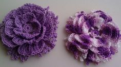 Hand crocheted flower by smileyface21 on Etsy, $8.00