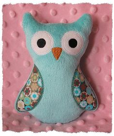 I have made several of these too and they are really easy but take a little more time because of the applique, but so cute! I made it out of minky material and my son loves his owl!