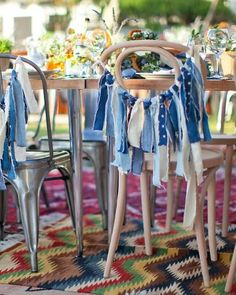 853117941e49 A Rustic and Whimsical Wedding at Home in California. Denim ...