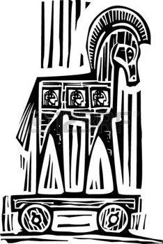 Woodcut style expressionist image of the Greek Trojan Horse , Black Girl Art, Art Girl, Troy Horse, A4 Poster, Horse Logo, Horse Pattern, Horse Art, Art Logo, Art For Kids