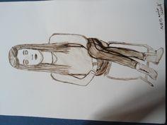 Unterricht Zeichnen mit Tusche