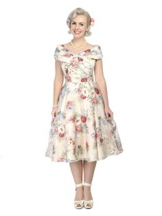 Dorothy English Garden Swing Dress 2