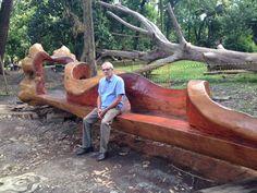 Reaproveitar Árvores que Caem Fazendo Móveis para parques, áreas de lazer em São Pualo, fotos de peças de esculturas feitas com árvores antigas mortas