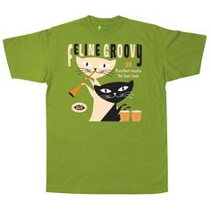 Feline Groovy T Shirt Various Artists (Fun Time) http://www.acerecords.co.uk/feline-groovy-t-shirt
