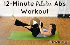 12-Minute Pilates Abs Workout. Great video, and it only takes 12 minutes out of your day!   www.actioncertification.org