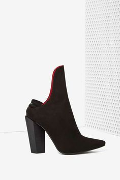 Jeffrey Campbell Empress Suede Bootie - Shoes