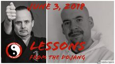 Today's lesson, 3 June 18 Our very first episode! We talk about Trump, John McCain, World Cup soccer and a Black Belt testing.and somehow manage to tie them all together!