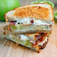 Seriously yummy grilled cheese concoctions...