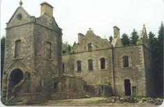 Carmichael Castle, Lanarkshire, Scotland. My moms side of the family originates from here :)