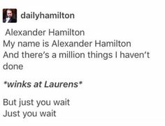 Still my favorite Hamilton post