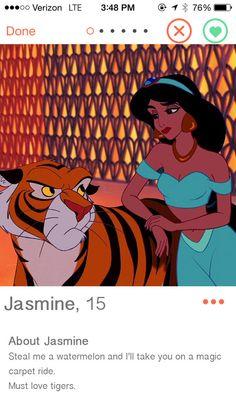 If Disney Princesses Had Dating Profiles