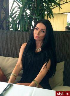 Long black hair, Long black and Black hair on Pinterest