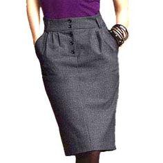 Модные юбки-карандаш . Юбка-карандаш, с чем носить? Юбка-карандаш для идеальной…