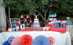 circus party, first birthday