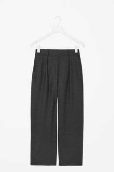 COS   High-waist pleated trousers