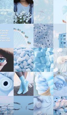 Aesthetic Desktop Wallpaper, Colorful Wallpaper, Aesthetic Backgrounds, Iphone Wallpaper, Cute Wallpapers For Ipad, Blue Wallpapers, Light Blue Aesthetic, Aesthetic Colors, Flower Background Wallpaper