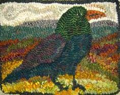 Image result for rug hooking examples
