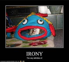 Ironic...