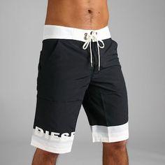 Men's swimwear CYMOD ロングサーフ pants [Black] Cymod long boxer ( swimwear )