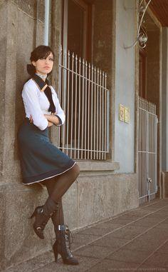 Elizabeth (Bioshock Infinite), Cosplay by ~AngelaBermudezcosplayparadise.net
