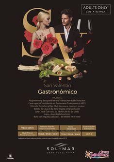 Gran Hotel Sol y Mar **** (Calpe, Alicante, Costa Blanca, España) ---- Especial SAN VALENTIN 2018 - Gastronómico ---- Sábado 17 de Febrero, desde 168,65 € ---- Resto condiciones de esta oferta en www.opentours.es ---- Información y Reservas en tu - Agencia de Viajes Minorista - ---- #granhotelsolymar #hotelsolymar #calpe #alicante #costablanca #SANVALENTIN2018 #gastronomico  #escapadas #hoteles #vacaciones #soloadultos #estancias #ofertas #familias #niños #agentesdeviajes  #reservas…