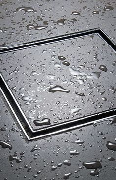 Flush shower drain cover that you inlay your tile in. No more nasty drain covers ... https://showerzoom.com/best-shower-speaker-reviews/