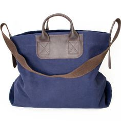 Tote bags are not exclusive for women. In Europe, it's a very popular bag for men, too. It's picking up here. I really like this one by United by Blue. Not too expensive, masculine and extremely roomy. Works as a very unique and stylish gym bag, too. $60 @Fab
