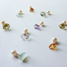 Great concept from yull - reversible earrings
